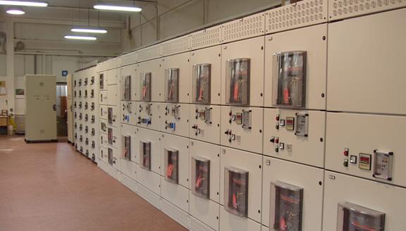Power Center 6300A Icc. 100kA 1s