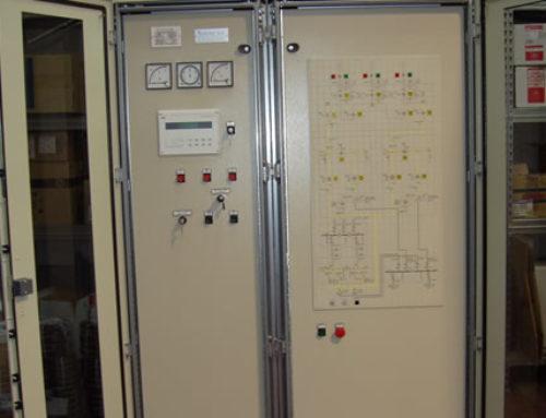 Quadro sincronizzazione turbine HOFUF (SADELMI)