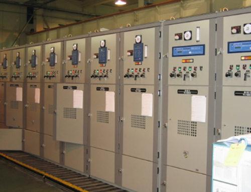 Quadri MT di 2 ingressi e 15 partenze 16KV per centrale elettrica PANAMA (BLM) SADELMI